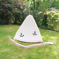 Porzellan - Segelboote